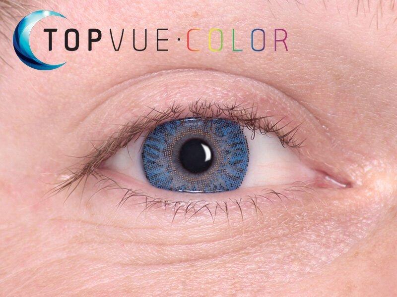 True Sapphire en ojos azules