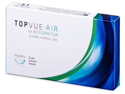TopVue Air for Astigmatism (3 lentillas)