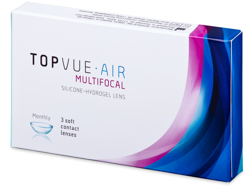 TopVue Air Multifocal (3 lentillas) - Lentillas multifocales