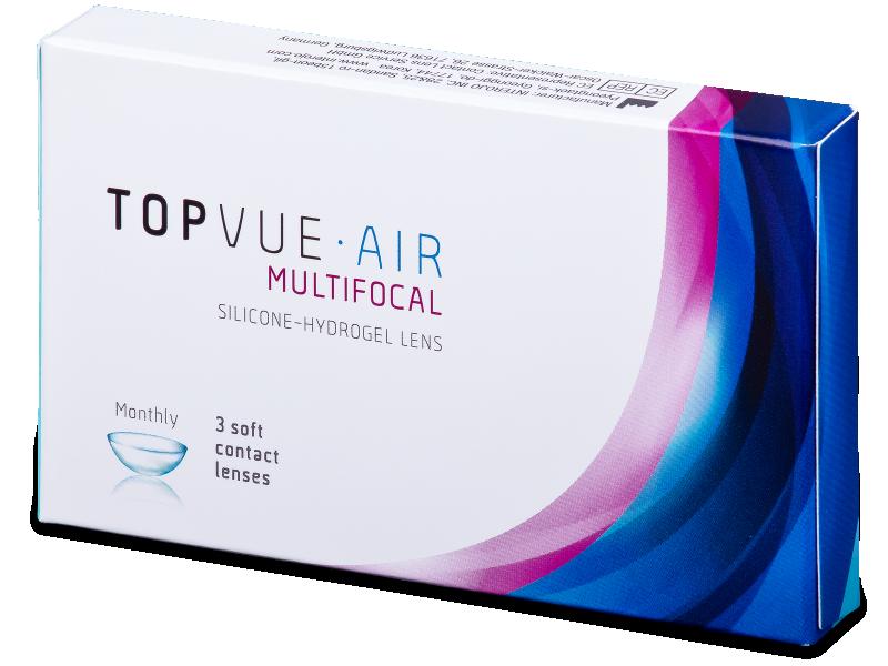 TopVue Air Multifocal (3lentillas) - Lentillas multifocales