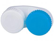 Accesorios - Estuche de lentillas azul y blanco L+R