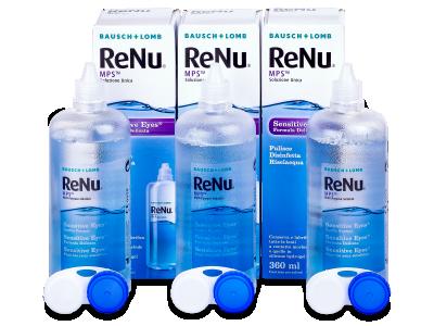 Líquido ReNu MPS Sensitive Eyes 3 x 360 ml