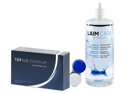 TopVue Premium (12 Lentillas) + Laim-Care 400ml