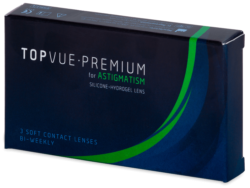TopVue Premium for Astigmatism (3Lentillas) - Lentillas tóricas