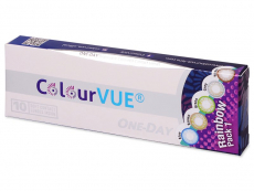 Lentillas de colores Maxvue Vision - ColourVue One Day TruBlends Rainbow (10 lentillas) (10 lentillas)