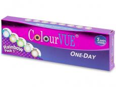 Lentillas de colores - ColourVue One Day TruBlends Rainbow (10 lentillas) (10 lentillas)