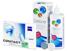 Packs ahorro de lentillas + líquido - Carl Zeiss Contact Day 30 Compatic (6lentillas) +Gelone360ml