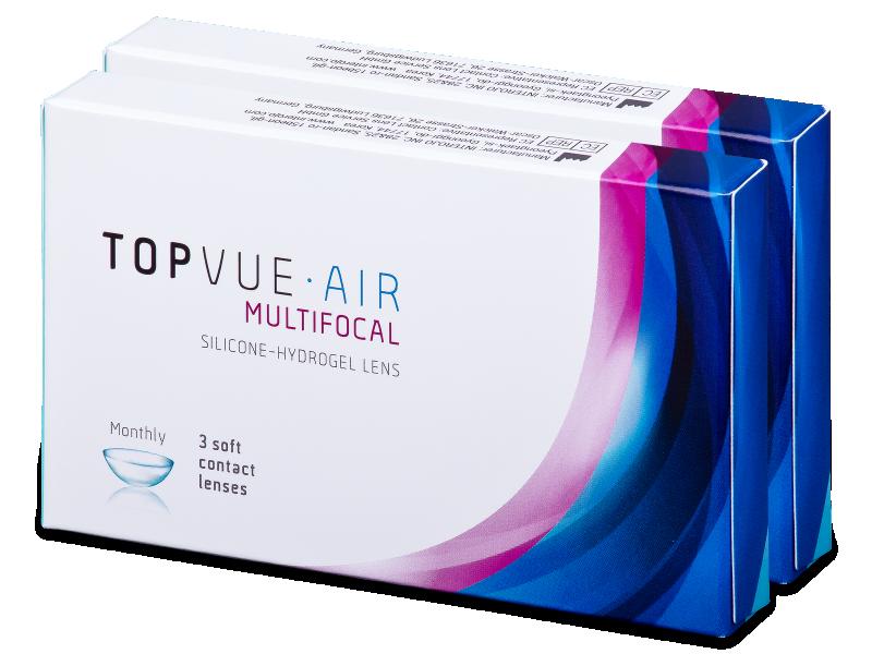 TopVue Air Multifocal (6 lentillas) - Lentillas multifocales