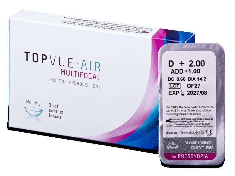 TopVue Air Multifocal (1lentilla) - Lentillas multifocales