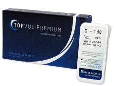Lentillas baratas - TopVue Premium (1 lentilla)