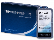 TopVue Premium (1 lentilla) - Lentillas quincenales