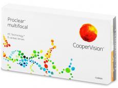 Lentillas Multifocales, Progresivas o Bifocales - Proclear Multifocal XR (6 lentillas)