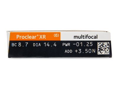 Proclear Multifocal XR (6 lentillas) - Previsualización de atributos