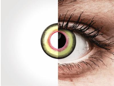 ColourVUE Crazy Lens - Mad Hatter - Diarias sin graduación (2Lentillas)
