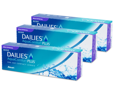 Dailies AquaComfort Plus Multifocal (90lentillas) - Lentillas multifocales