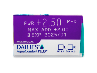 Dailies AquaComfort Plus Multifocal (90lentillas) - Previsualización de atributos
