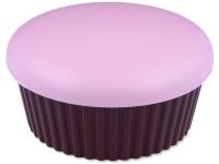 Estuche con espejo Muffin - rosa