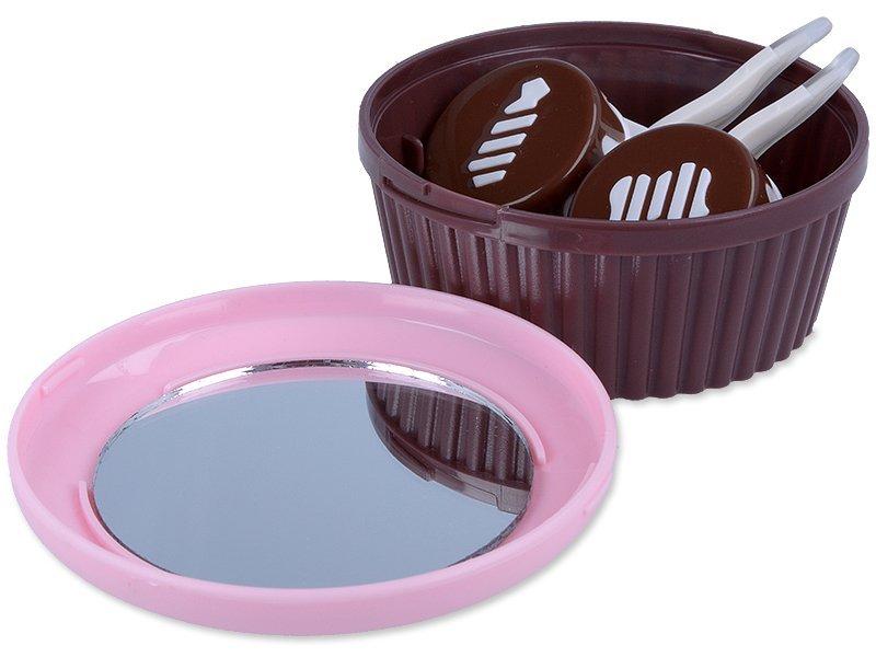 Estuche con espejo Muffin - rosa  - Otros fabricantes