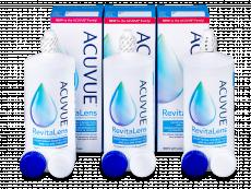 Líquido de limpieza  Acuvue RevitaLens 3x 300 ml  - Pack ahorro - solución triple
