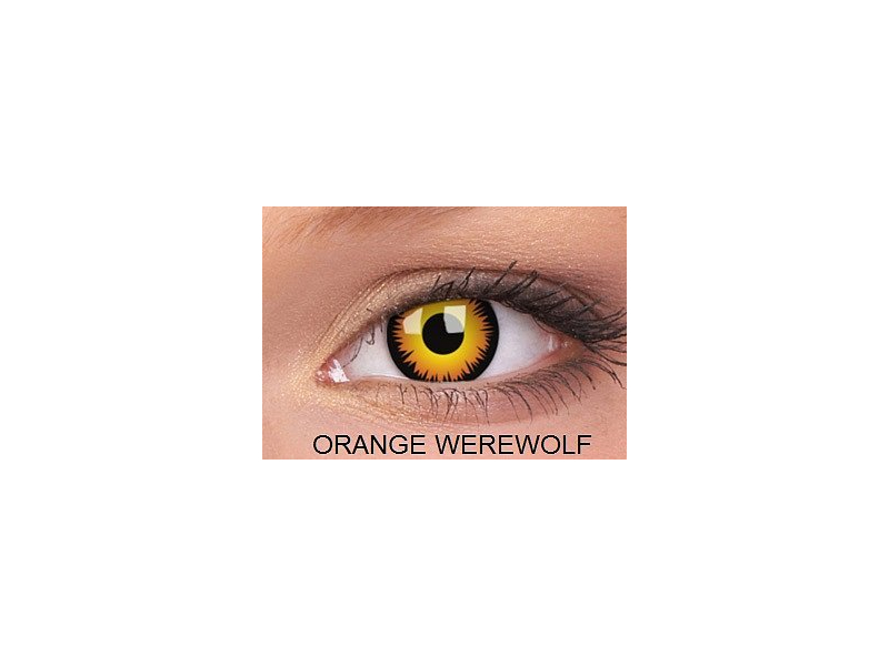 Orange Werewolf