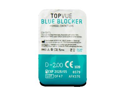 TopVue Blue Blocker (90 lentillas) - Previsualización del blister