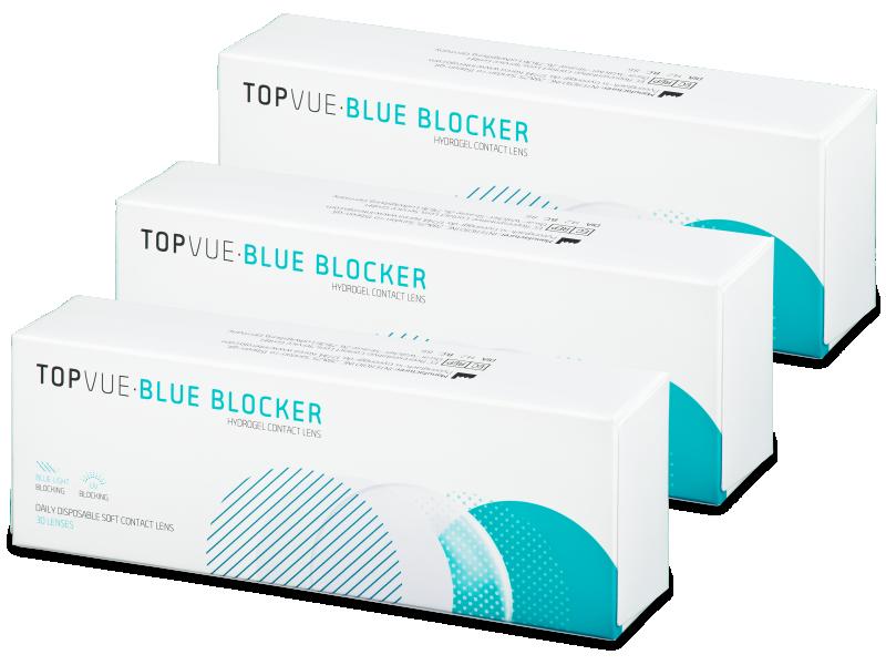 TopVue Blue Blocker (90 lentillas) - Lentillas diarias desechables