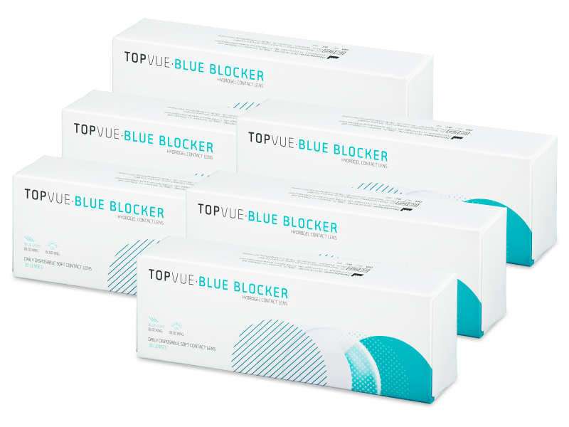 TopVue Blue Blocker (180 lentillas)