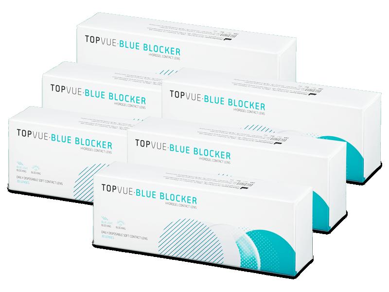 TopVue Blue Blocker (180 lentillas) - Lentillas diarias desechables