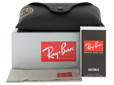 Gafas de sol Gafas de sol Ray-Ban Justin RB4165 - 622/6Q  - Preivew pack (illustration photo)