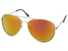 Gafas de sol Mujer - Gafas de sol Silver Pilot - Rosa/Naranja
