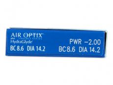 Air Optix plus HydraGlyde (6lentillas) - Previsualización de atributos