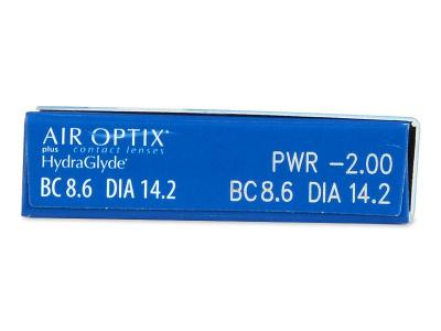 Air Optix plus HydraGlyde (6lentillas)