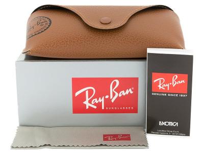 Gafas de sol Gafas de sol Ray-Ban Justin RB4165 - 865/T5 POL  - Preview pack (illustration photo)
