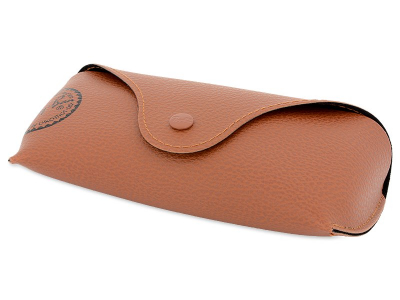 Gafas de sol Gafas de sol Ray-Ban Justin RB4165 - 865/T5 POL  - Original leather case (illustration photo)