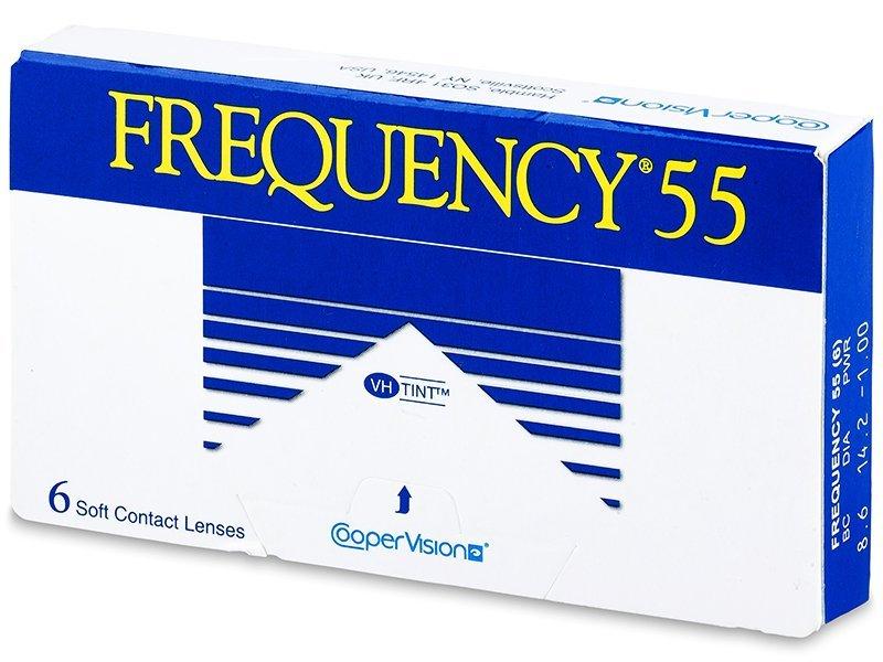ef6885a0cd Frequency 55 (6 Lentillas) - Lentillas mensuales - CooperVision