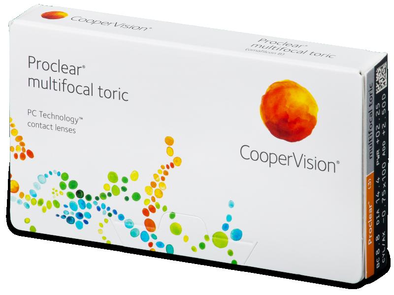 Proclear Multifocal Toric (3lentillas) - Lentillas mensuales