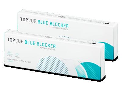 TopVue Blue Blocker (5pares) - Lentillas diarias desechables