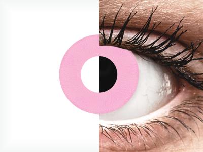 CRAZY LENS - Barbie Pink - Diarias sin graduación (2 Lentillas)