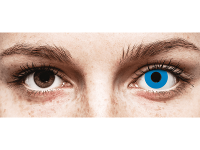 CRAZY LENS - Sky Blue - Diarias sin graduación (2 Lentillas)