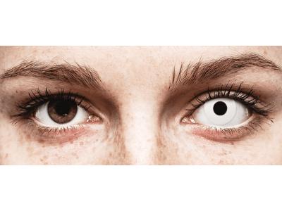 CRAZY LENS - WhiteOut - Diarias sin graduación (2 Lentillas)