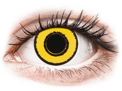 CRAZY LENS - Yellow Twilight - Diarias sin graduación (2 Lentillas)