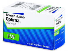 Lentillas Bausch and Lomb - Optima FW (4 Lentillas)