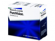 Lentillas Bausch and Lomb - PureVision (6 Lentillas)