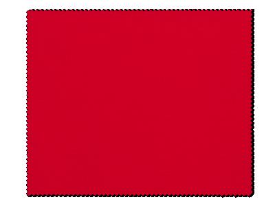 Paño de limpieza para gafas - rojo