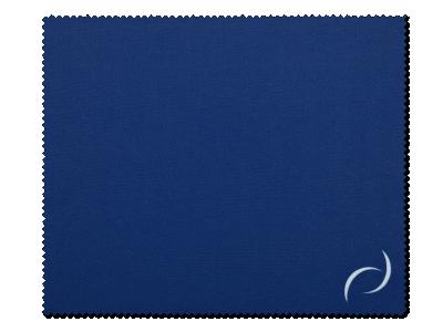 Paño de limpieza para gafas - azul oscuro