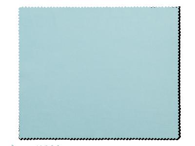 Paño de limpieza para gafas - azul claro