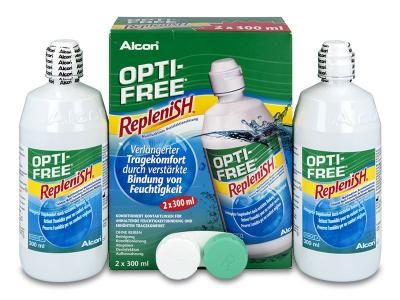 Líquido OPTI-FREE RepleniSH 2x300ml  - Diseño antiguo