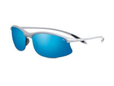 Gafas de sol Serengeti Maestrale Metallic Silver 8123 Blue