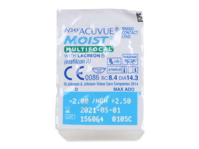 1 Day Acuvue Moist Multifocal (30 lentillas)  - Blister pack preview