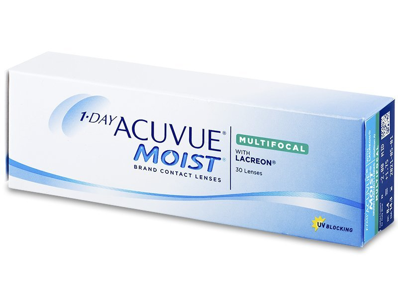 1 Day Acuvue Moist Multifocal (30 lentillas)  - Lentillas tóricas